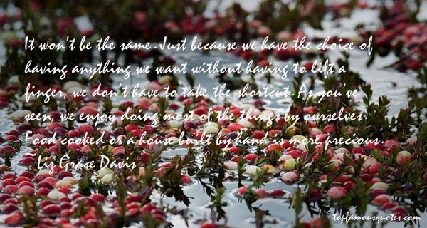 Liz Grace Davis Quotes