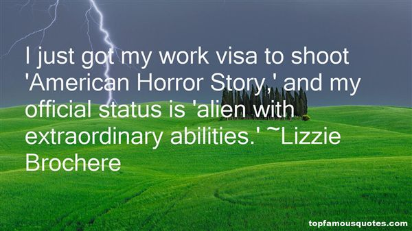 Lizzie Brochere Quotes