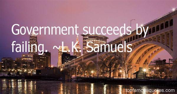 L.K. Samuels Quotes
