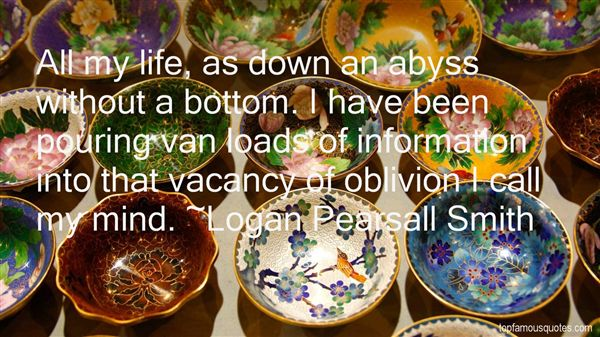 Logan Pearsall Smith Quotes