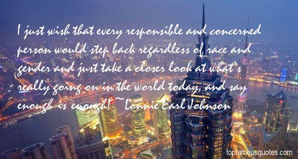 Lonnie Earl Johnson Quotes