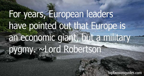 Lord Robertson Quotes