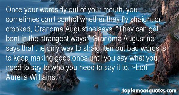 Lori Aurelia Williams Quotes