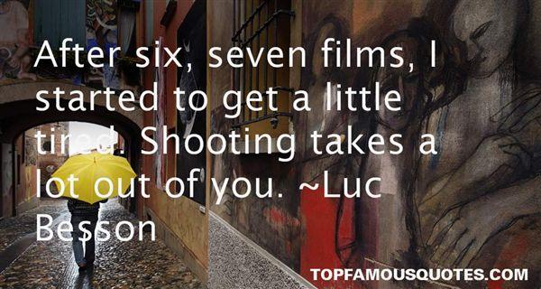 Luc Besson Quotes