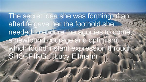 Lucy Ellmann Quotes