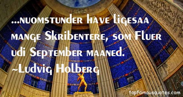 Ludvig Holberg Quotes