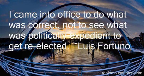 Luis Fortuno Quotes