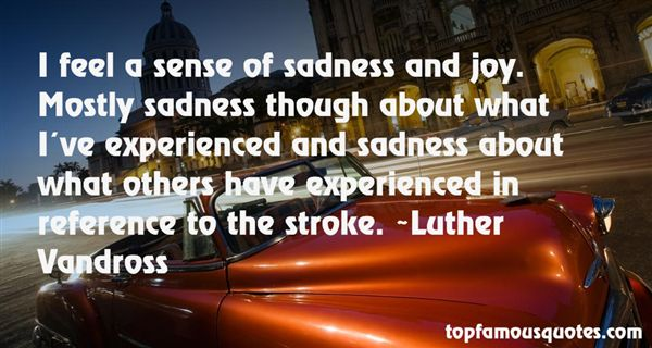 Luther Vandross Quotes