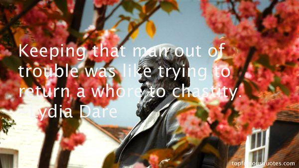 Lydia Dare Quotes