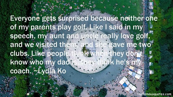 Lydia Ko Quotes