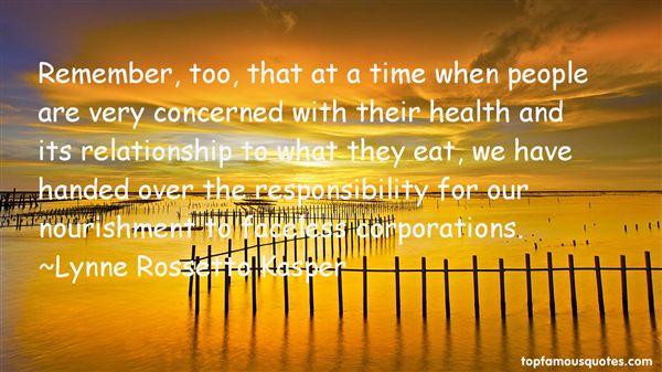 Lynne Rossetto Kasper Quotes
