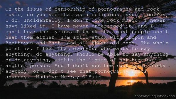 Madalyn Murray O'Hair Quotes