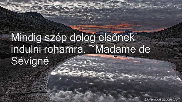 Madame De Sévigné Quotes