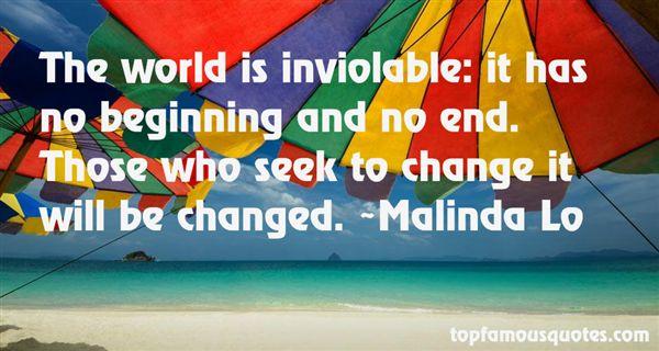 Malinda Lo Quotes