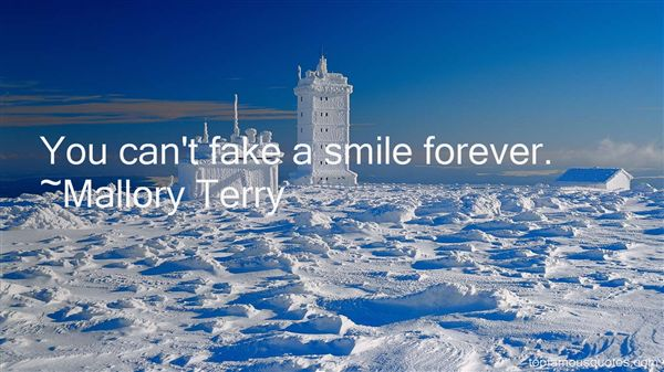Mallory Terry Quotes