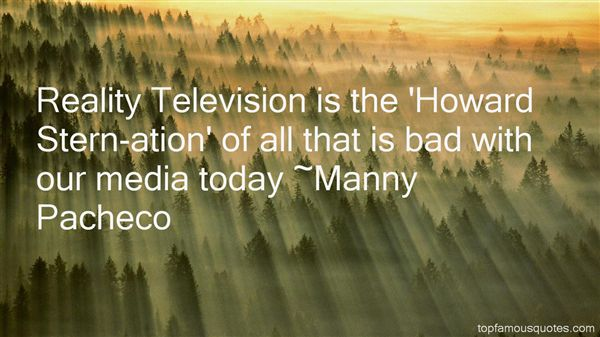 Manny Pacheco Quotes