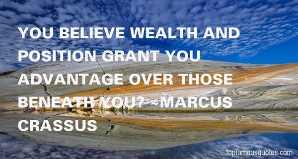 Marcus Crassus Quotes
