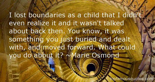Marie Osmond Quotes