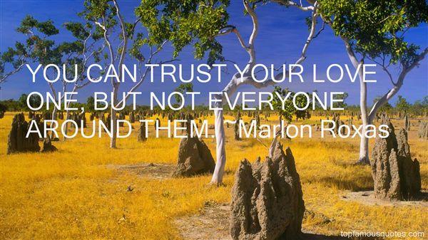 Marlon Roxas Quotes