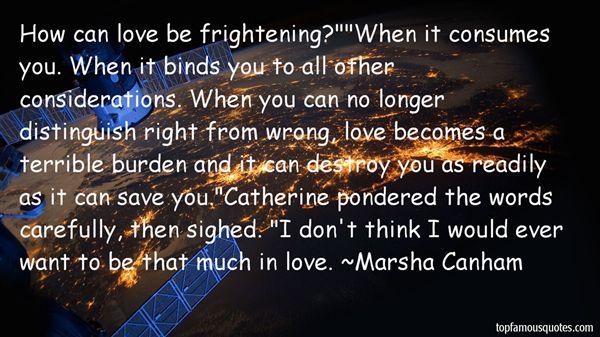 Marsha Canham Quotes