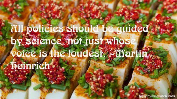 Martin Heinrich Quotes