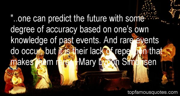 Mary Lydon Simonsen Quotes