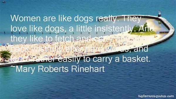 Mary Roberts Rinehart Quotes