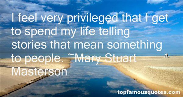 Mary Stuart Masterson Quotes
