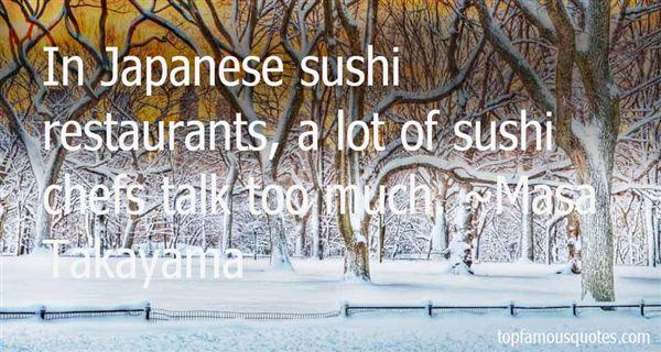 Masa Takayama Quotes