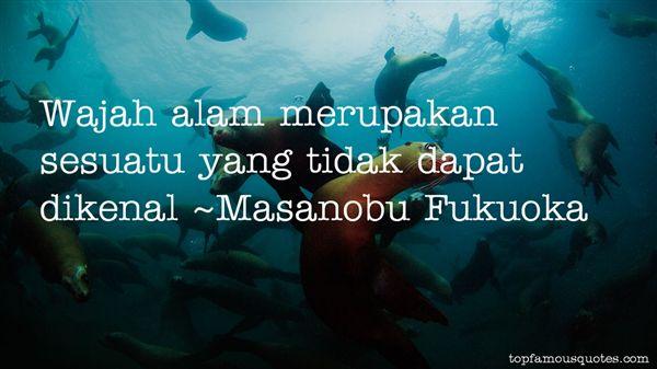 Masanobu Fukuoka Quotes