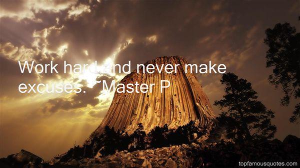 Master P Quotes