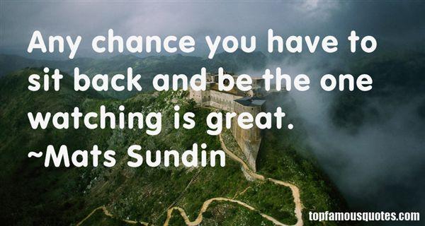 Mats Sundin Quotes