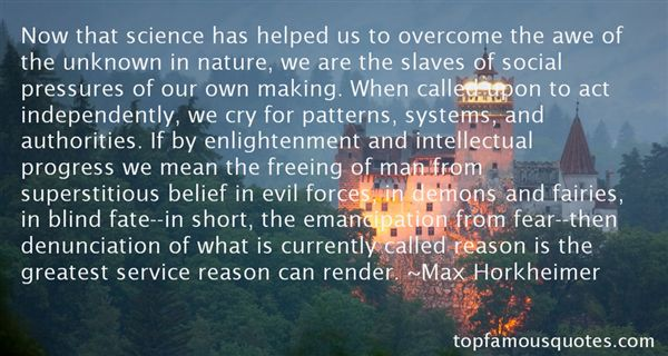 Max Horkheimer Quotes
