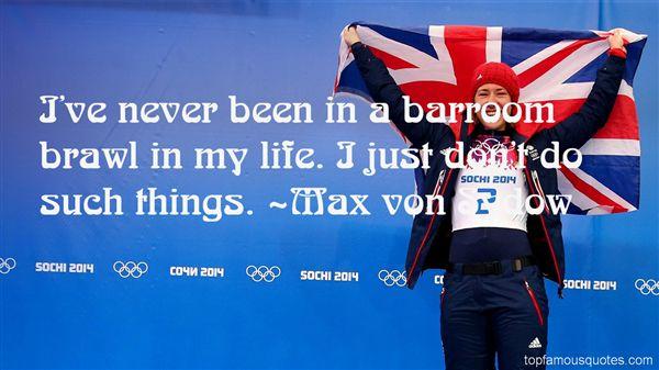 Max Von Sydow Quotes