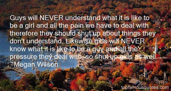 Megan Wilson Quotes