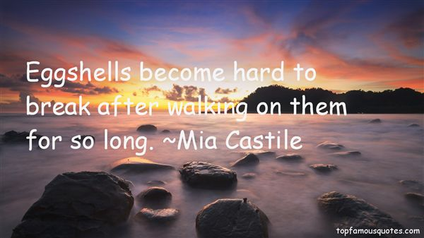 Mia Castile Quotes