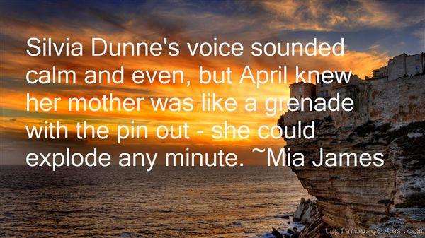 Mia James Quotes