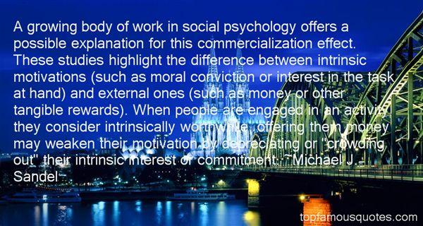Michael J. Sandel Quotes