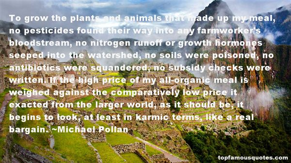 Michael Pollan Quotes