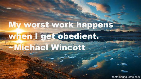 Michael Wincott Quotes