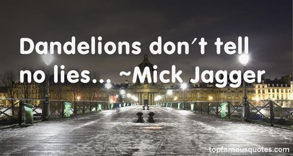 Mick Jagger Quotes