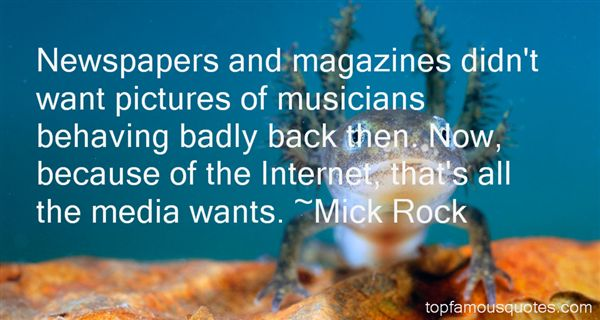 Mick Rock Quotes