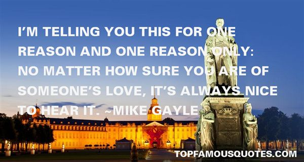 Mike Gayle Quotes