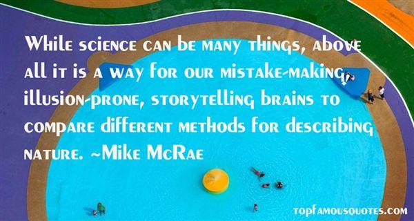 Mike McRae Quotes