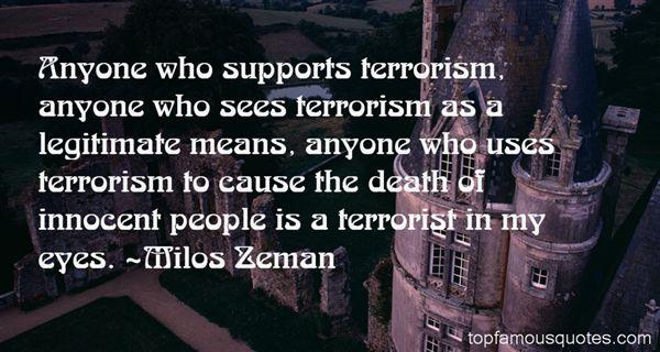 Milos Zeman Quotes