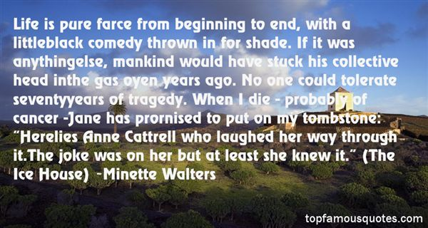 Minette Walters Quotes