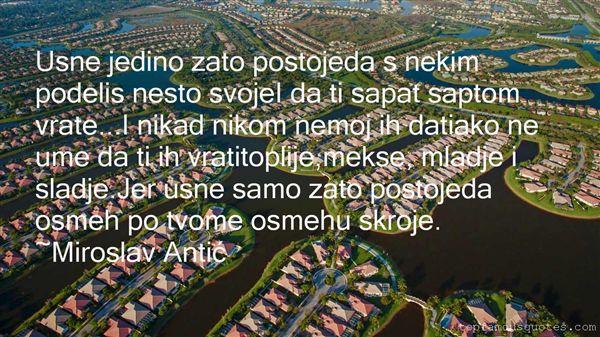 Miroslav Antić Quotes