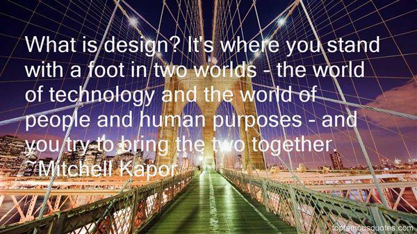 Mitchell Kapor Quotes