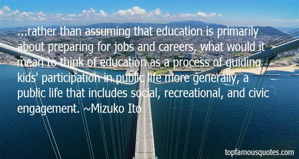 Mizuko Ito Quotes