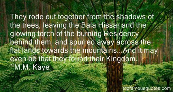 M.M. Kaye Quotes